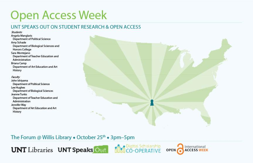 OA Week @ UNT - Student Panel